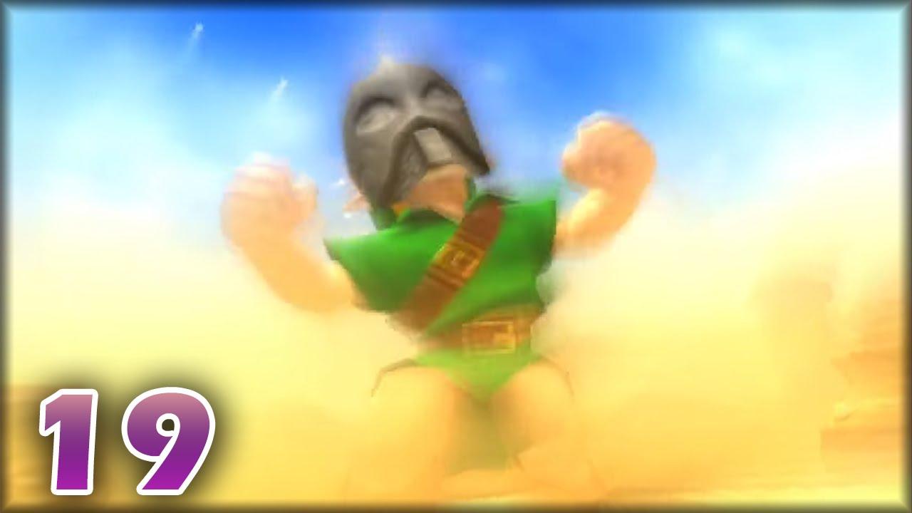 Zelda Majora\'s Mask 3DS Parte 19 En Vivo - Vs 4to Jefe Twinmold ...