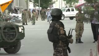 Afganistan'da NATO askeri konvoyuna bombalı saldırı