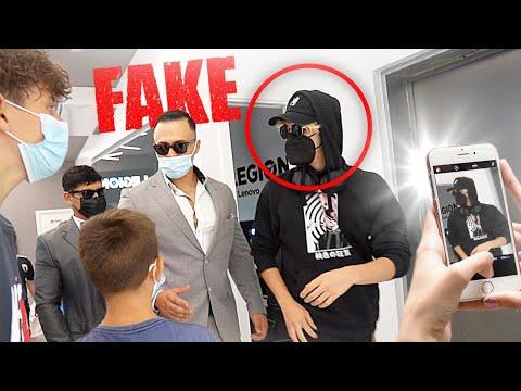 Contraté a DOBLES de YouTubers FALSOS