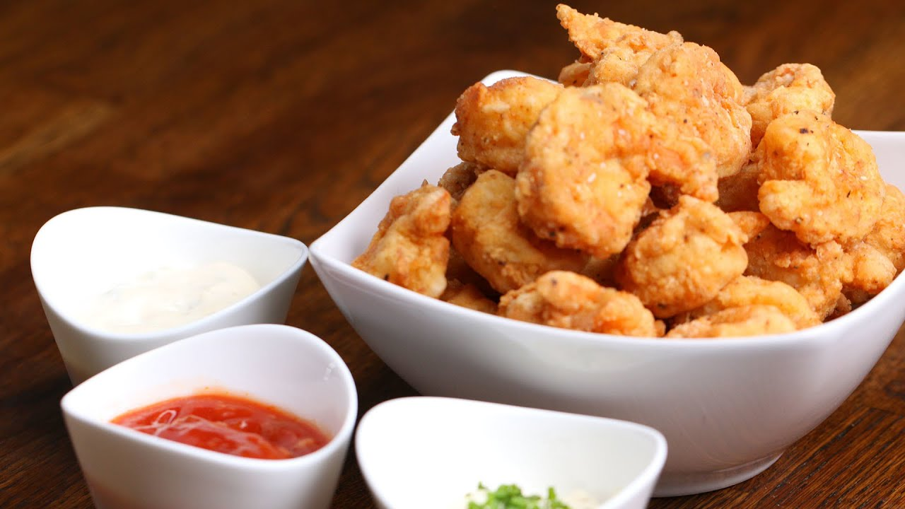 Easy Popcorn Shrimp