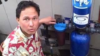 Whole House Aquasana Rhino Water Filter Installed On My You
