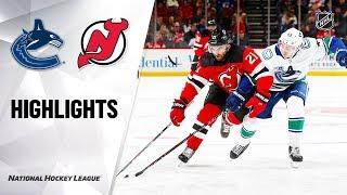 Game Highlights Canucks @ Devils 10/19/19 Highlights Video