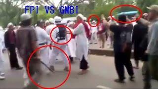 Detik-Detik Rusuh FPI VS GMBI di Bandung