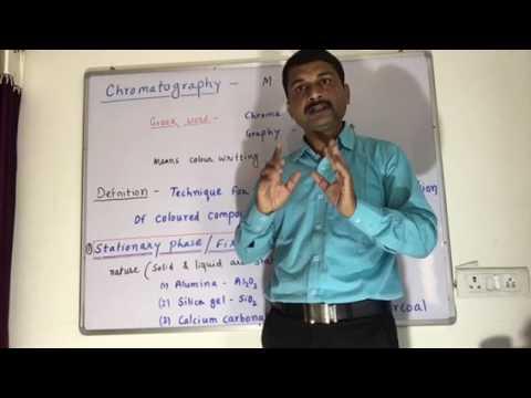 Introduction of Chromatography & Types of chromatography