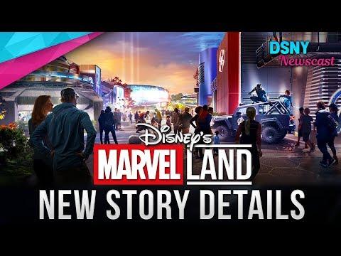 NEW Story Details For MARVEL LANDS Coming To Disney Parks - Disney News - 12/11/18
