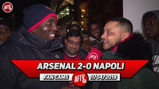 Arsenal 2-0 Napoli | We Will Beat Watford & Draw In Naples! (Troopz Makes Bold Predictions)