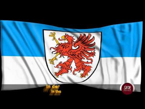 Landeshymne Pommern - National anthem of Pomerania
