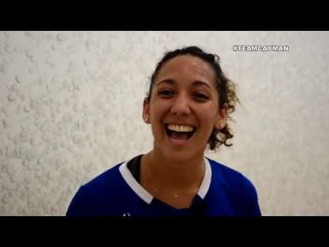 Samantha Hennings: Team Cayman profile XXI Commonwealth Games