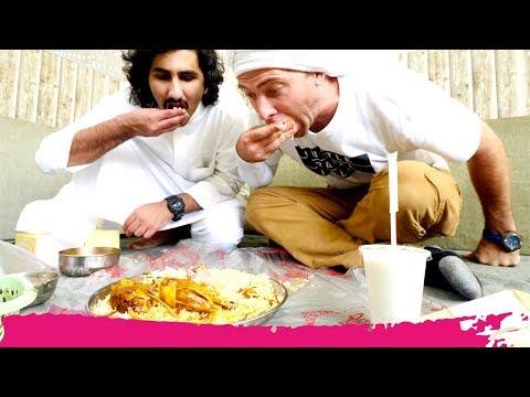 Kuwaiti ARABIAN LAHAM MANDI - Goat Biryani & GRAND MOSQUE Tour | Kuwait City, Kuwait
