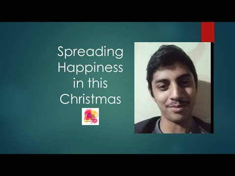 Spreading Happiness in this Christmas