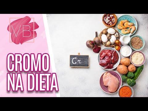Benefícios do Cromo para o organismo - Você Bonita (09/10/19)
