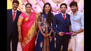 Tamil Actor Nakul Sruti Bhaskar Wedding Reception at Chennai