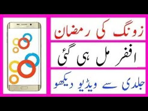 (190) zong best package for zong users 2018 Technical Student