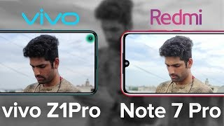 Vivo Z1 Pro vs Redmi Note 7 Pro Camera Test - BEST under 15K?