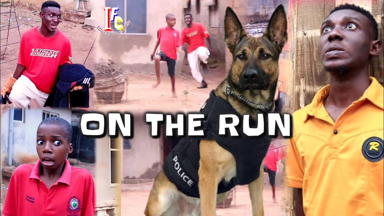 ON THE RUN (Mark Angel Comedy) (Izah Funny Comedy) (Episode title)