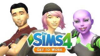 Let's Play The Sims 4 Get to Work — Part One — CAS