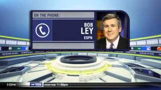 Bob Ley on the hottest stories in sports