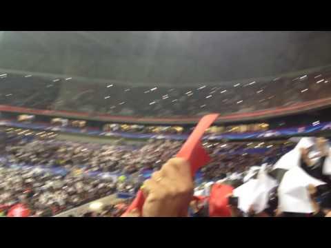 OL / Juventus (Ligue des Champions 16-17) – Entrée des joueurs