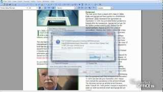Removing metadata from WordPerfect® files