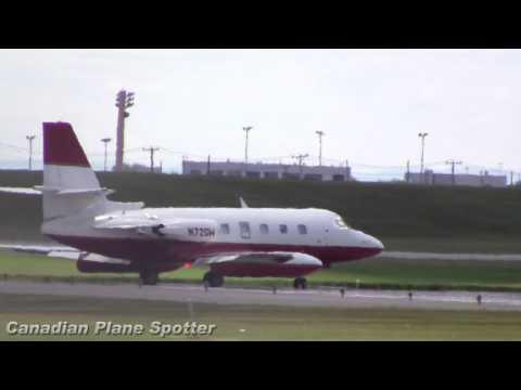 Safari Air Lockheed Jetstar II Takeoff from Montreal-Trudeau Int'l Airport