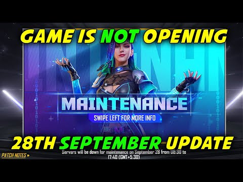 Free Fire 28th September All New Update, Game is Not Opening | Garena Free Fire 2021