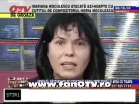 Mariana Moculescu in crize la otv