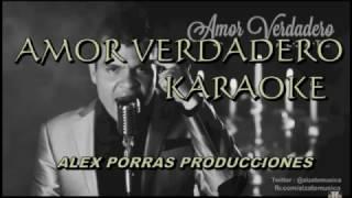 KARAOKE AMOR VERDADERO - ALZATE