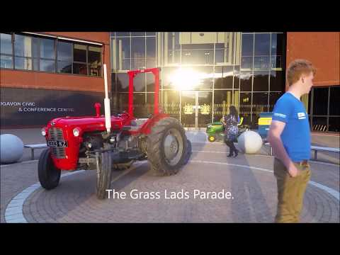 The Grass Lads at the launch of The Ni Ploughing Championships 2017
