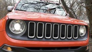Тест Драйв Jeep Renegade 2017 - Странный, Но Мне Понравился!