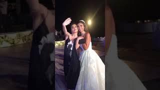 لقطات حصرية من زفاف الإعلامية ألين وطفا مع اصدقائها ستيفاني صليبا، دانييلا رحمة، وسيرين عبد النور