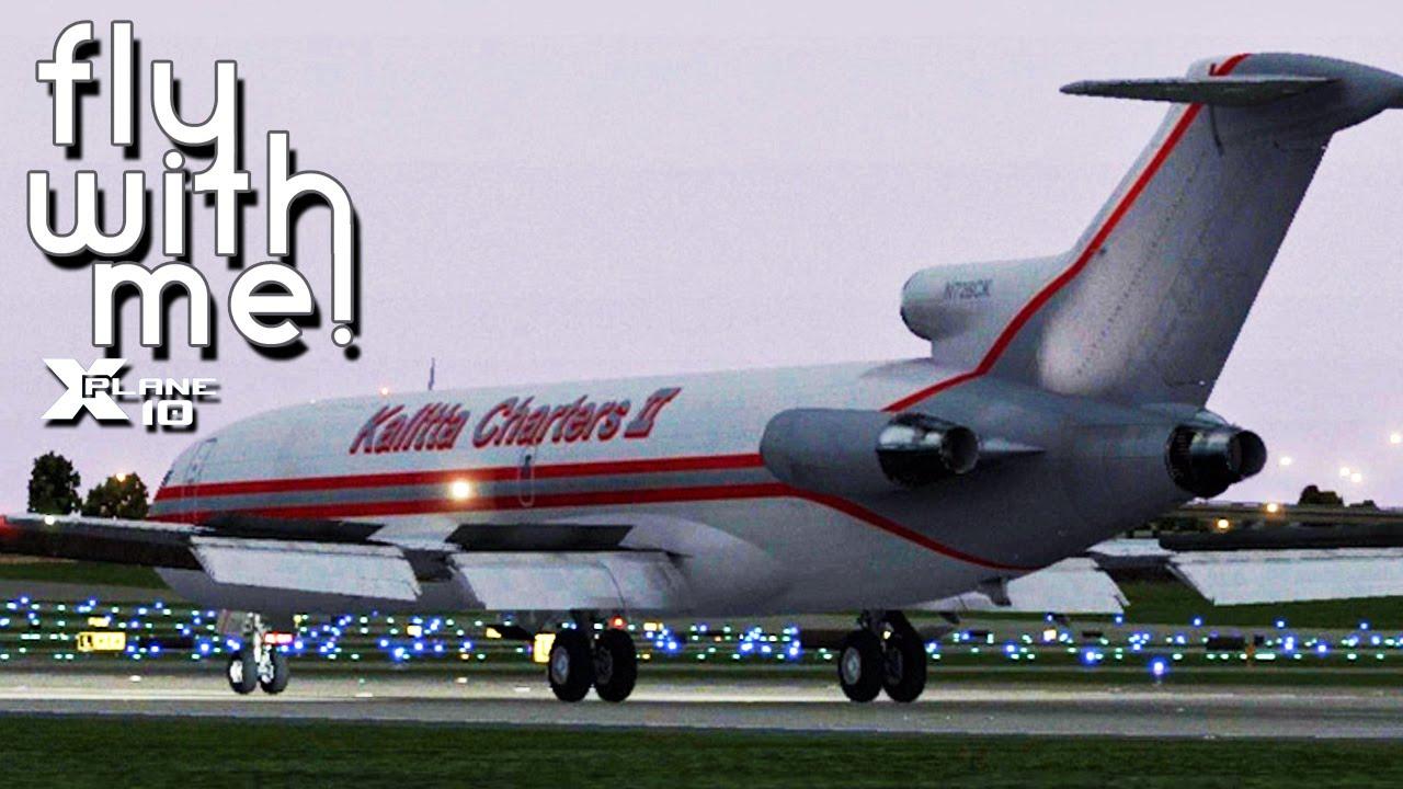 X-Plane 10 - (First Look) FlyJSim 727
