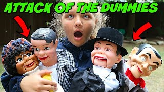 Slappy's Back with HIS FAMILY!! Attack of The Dummies! Goosebumps in Real Life!