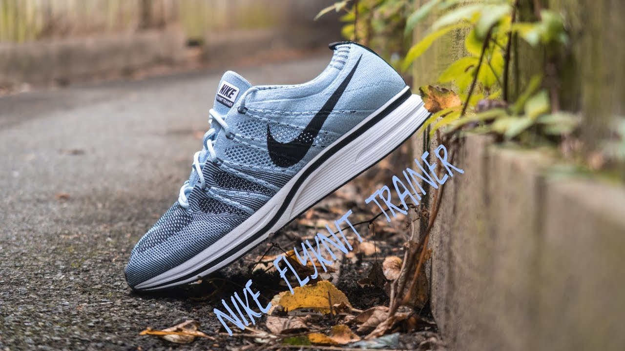 uk availability b6129 dce91 Nike Flyknit Trainer  Cirrus Blue  Review + On Feet