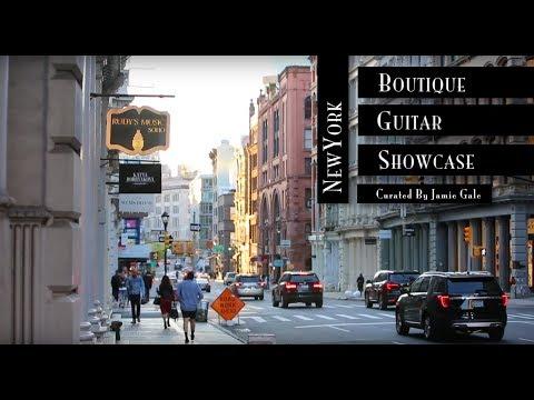 NEW YORK - Rudy's Music   Boutique Guitar Showcase 2017