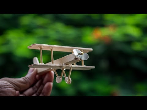 How to Make a Wooden Toy Plane  DIY wooden toy airplane for kid