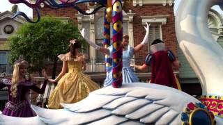 2011/10/8/香港迪士尼樂園遊行影片(上)