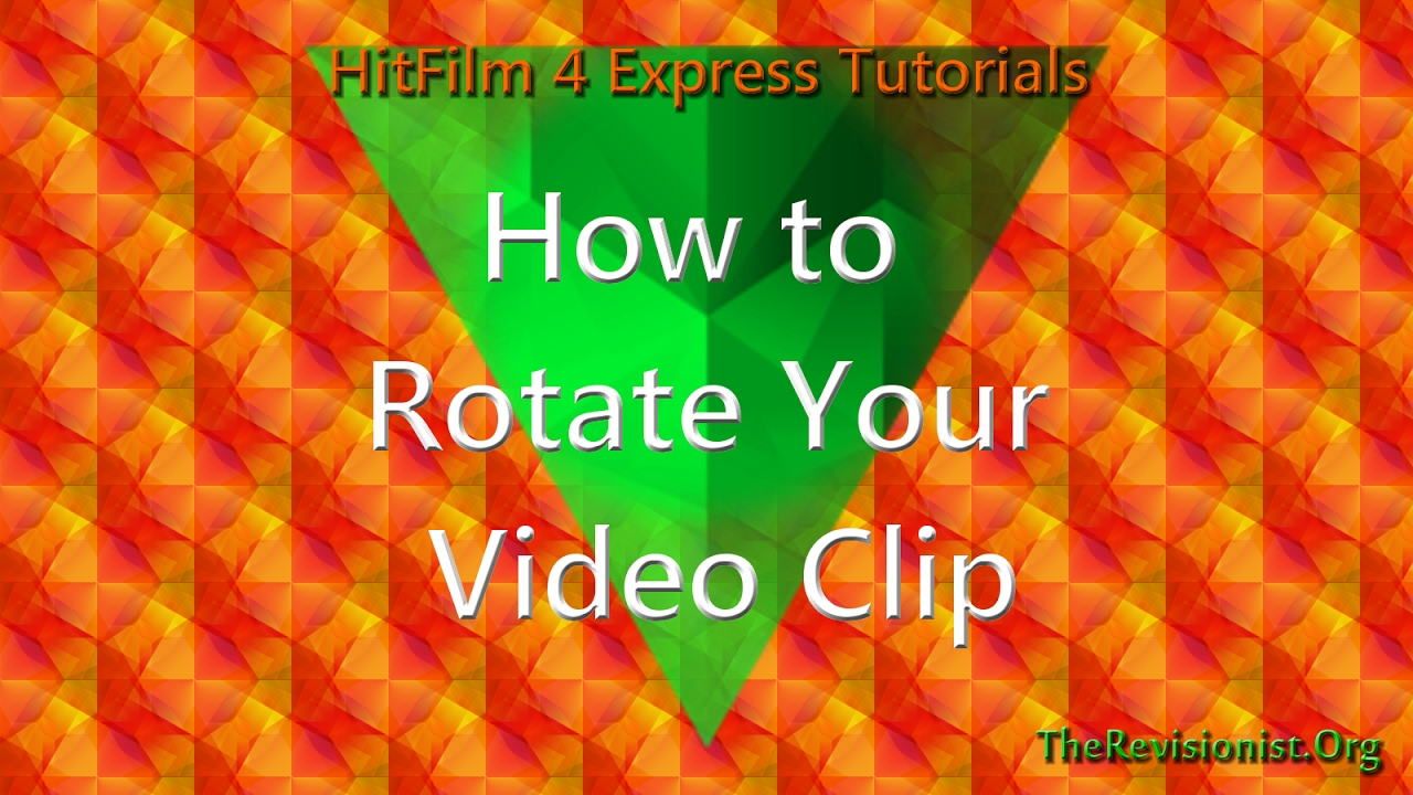 How to rotate the angle of your video clip in hitfilm 4 express how to rotate the angle of your video clip in hitfilm 4 express ccuart Images