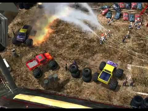 Monster truck crash and failures - 911 first responders #02