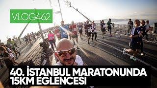 40. İstanbul Maratonu'nda 15km parkurunda bol eğlence - 2018 | Asla Durma Vlog462