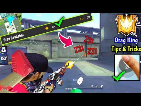 How to Become Drag Headshot King🔥😲//Top 5 Tips & Tricks!!