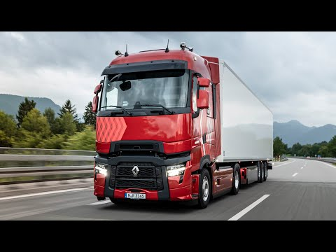 New 2022 Renault T HIGH Truck Facelift - Interior And Exterior Presentation