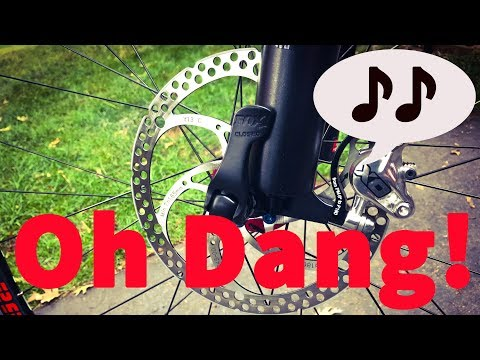 Stopping Bike Disc Brake Squeal - Here's a GOOD DIY Technique you Probably Haven't Tried Yet!