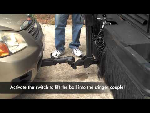 Using The Electric Tow Hitch