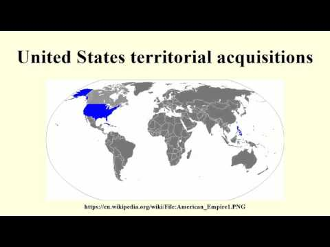 Usa Acquisitions - Us territorial acquisitions