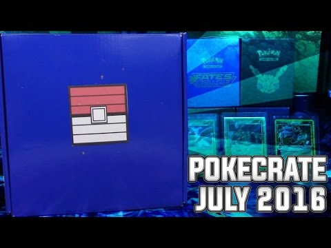 Pokecrate Box Opening and Review!   July 2016
