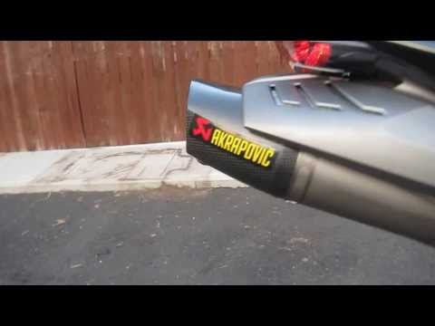 Triumph Daytona  Full AKRAPOVIC RACE EXHAUST