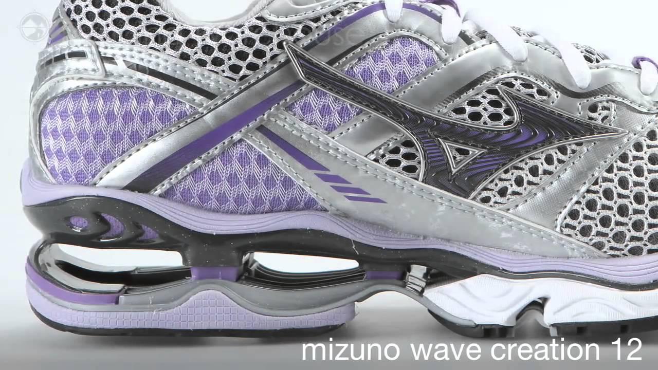 Mizuno Wave Creation 12 Womens - YouTube