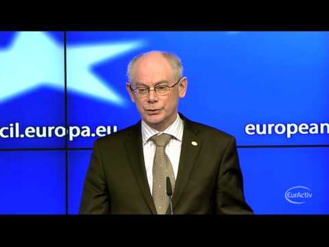 Syria arms embargo dominates Friday EU summit talks