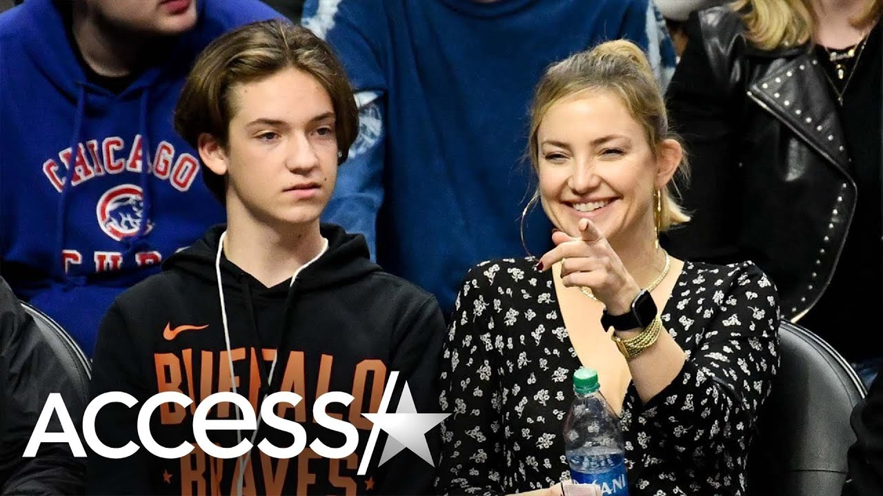 Kate Hudson's Son Ryder Trolls Her Wellness Videos With Spot-On Impression & She Loves It