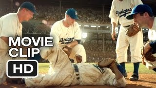 42 Movie CLIP - Get Me Up (2013) - Jackie Robinson Movie HD